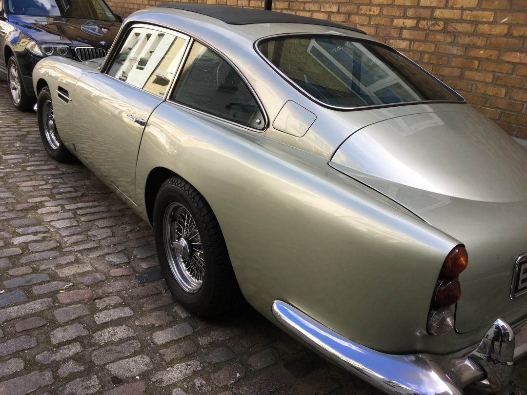 Spotted 1964 Aston Martin Db5 Classic Car Hire South West England